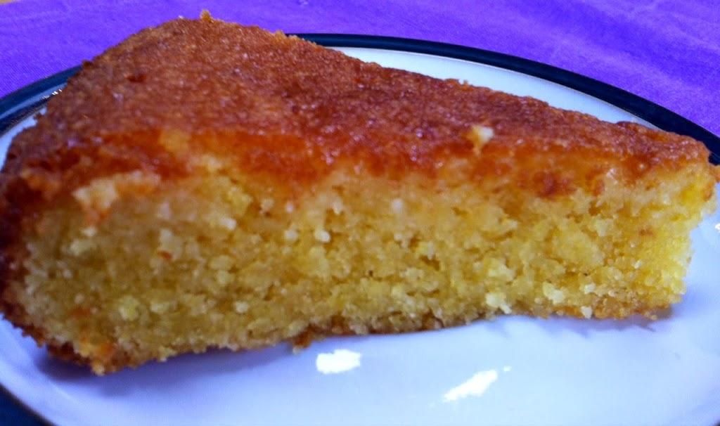 Amalfi Lemon Polenta Cake