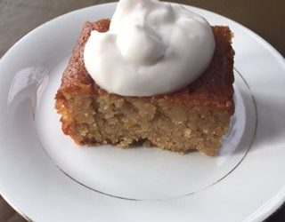 Orange and Cardamom Cake (gluten and dairy free)