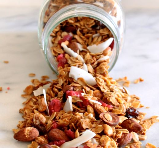 Cranberry and Coconut Granola