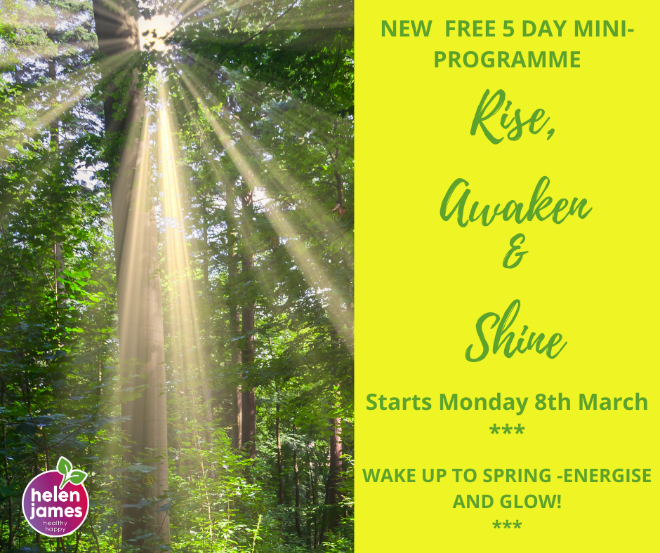 FREE 5DAY Rise & Shine mini-programme.